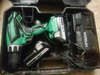 Hitachi 18 v hammer drill
