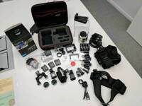 [QUICK SALE] GoPro Hero 4 Black, 3 batteries, case + more!