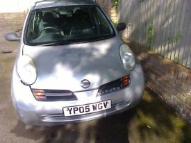 Reliable Nissan Micra 05 - Fully Serviced + 12mths MOT