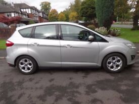 For sale 2011 (61 plate) Silver Ford C Max 1.6 Zetec petrol. New shape 55522 miles. Nice clean car.