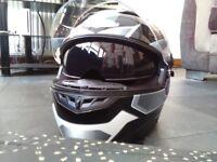 Motorbike helmet, large