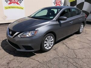 2016 Nissan Sentra S, Automatic, Steering Wheel Controls,