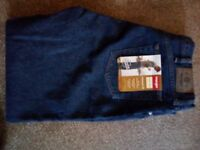 Wrangler Hero Relaxed 5 star jeans NEW waist 38inches; Leg 32inches