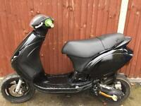 Piaggio zip 70cc reg as 50cc moped scooter Vespa Honda Yamaha