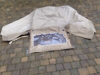 Land Rover Defender 110 Crew Cab Canopy and rails