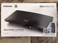 Brand new unopened sealed box Samsung Ultra HD Blu-ray Player UBD-K8500