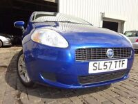 💥57 FIAT PUNTO GRANDE ACTIVE 65 1.2,MOT JULY 017,1 OWNER,PART SERVICE HISTORY,VERY RELIABLE💥