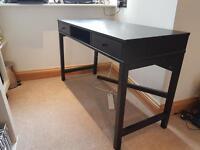 Black Pine Desk / Dressing Table