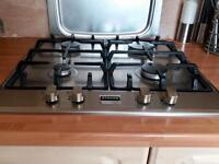 Stoves stainless steel gas hob
