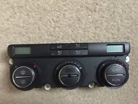 VW Golf heater control and unit, fully working