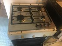 Electric oven, gas hob and IKEA cupboard