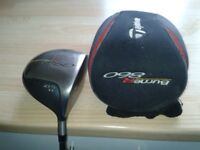TaylorMade mens Burner Lite860, 10.5 TI low torque driver S max distance, 60grams ex con.