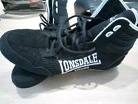 Lonsdale Contender Boxing Boots BN Size 9.5 Never Worn