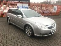 2007 (07) Vauxhall Vectra 1.9 CDTi Estate Auto / 75K FSH / 12 Months MOT / Leather / DVD player