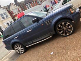 2006 Range Rover HSE sport top spec luxury blue