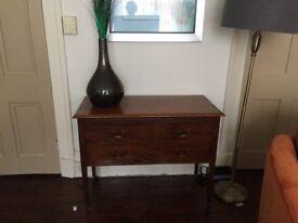 Vintage Mahogany Drawer Chest. £50