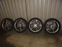 "SEAT ALTEA FR 2005 17"" Alloy wheels"