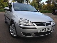 Vauxhall CORSA Sxi Model 46 MPG Alloy wheel Leather Interior Mot 3rd Oct 2017 low Tax only 1 owner