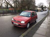 AUTOMATIC Nissan Micra with Long MOT, Service History, 2 Keys, Low Mileage, Ready to Drive