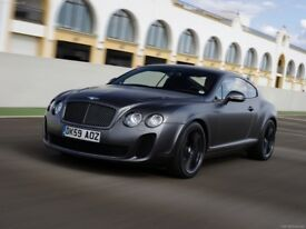 WANTED Bentley Continental Supersports