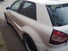 Audi A3 1.8t unfinished project