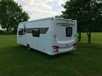 ECCLES SOLITAIRE SR 4 BERTH FIXED 11 SINGLE BEDS END BATHROOM VGC