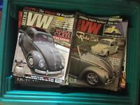 2 x boxes VW Magazines