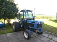 Ford Tractor 2120 (1994) with 12 forward gears, 4 reverse. PTO with 3 point linkage Good Condition