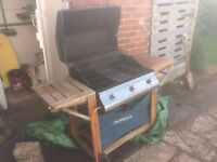 Outback Gas Barbecue and 2 Calor Gas Propane Cannisters
