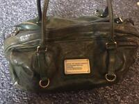 Marc by Marc Jacobs leather weekend bag