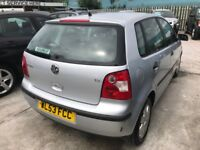 VW Polo 1.2 petrol 12 Months MOT Now Reduced