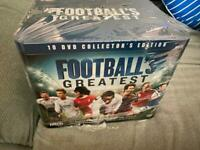 Sealed box - Football's Greatest 10 DVD collector's edition