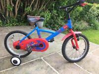 Child's bike Btwin 14 1/2 inch