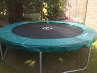TP 10ft TRAMPOLINE FOR SALE, GOOD CONDITION, well looked after, sturdy make.