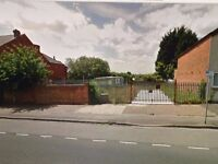 Secure open-air land for rent aprox half acre of land from £100 pw.SORRY LET NEW
