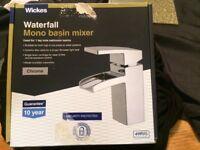 Wickes Waterfall mono basin mixer