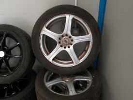 AFTER MARKET 17 INCH ALLOYS FOR SALE BARGAIN!!!!!