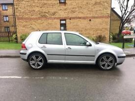 "2003 Volkswagen Golf 1.6 SE – 18"" ALLOYS, LONG MOT, PETROL, SILVER, MANUAL, 5 DOOR, CHEAP CARS"
