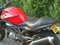 Cagiva Raptor 1000 - Suzuki TL1000 engine naked sports tourer