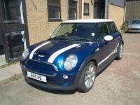 52 PLATE MINI COOPER S EXTENSIVE WORK FOR NEW MOT EXCELLENT DRIVER ONLY £2695