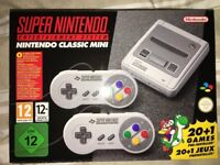 SNES Mini + AC Power adapter (BOTH BRAND NEW-UNOPENED)