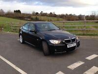 BMW 3 SERIES M SPORT 320D BLACK