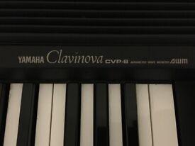 Yamaha Clavinova CVP8 Advanced Wave Memory Piano with stool
