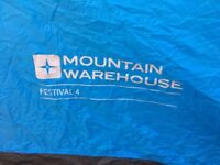 Mountain Warehouse 4 Man Tent