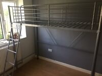 Childs metal bed frame x2