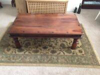Sheesham Wood Coffee Table For Sale
