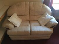 Sofa white (2 seat) in really good condition and clean