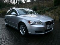 VOLVO V50 1.6D Drive ZERO ROAD TAX! FULL MOT FSH 60MPG!