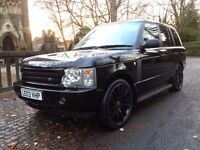 "2003 LAND ROVER RANGE ROVER VOUGE 4.4 V8 22"" ALLOYS WITH VERY GOOD TYRE'S GOOD SPEC LOOKS STUNNING"