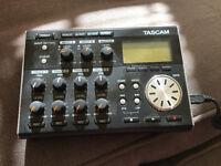 Tascam DP 004 4 track digital recorder